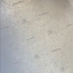 Chanel tissue paper.